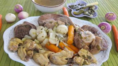 Soupes &amp; potages : Assiette du bollito misto