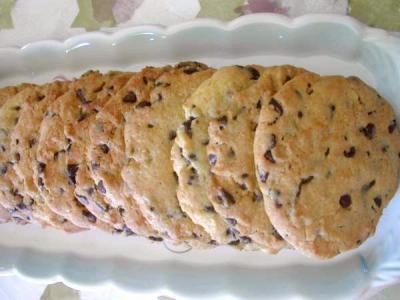cookies au brisures de chocolat