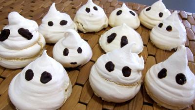 Halloween : Meringues hallowenn les esprits fantômes