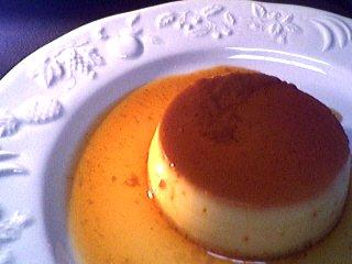 Recette Assiette de crème renversée