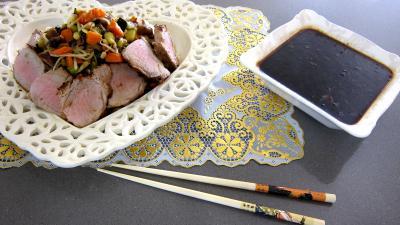 Recette Plat de cochon et son filet avec sa sauce au parfum de Chine