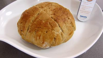 Recette Miche de pain au blé noir réalisé avec la fritueuse Airfryer