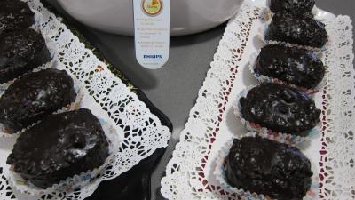 cupcakes : Plats de cupcakes au chocolat à la friteuse Airfryer