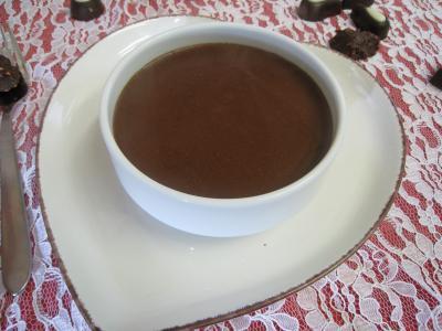 Image : sauce au chocolat salée