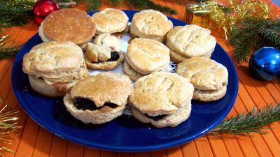 Photo : Assiette de scones