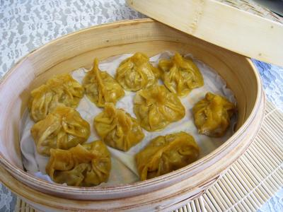 Recette Panier de dim sum de boeuf en amuse-bouche