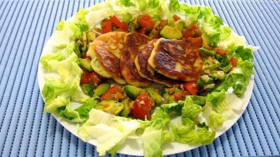 colombo épices : Assiette de ricotta en croquettes au citron vert