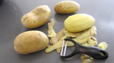 recette  chips de pommes terre