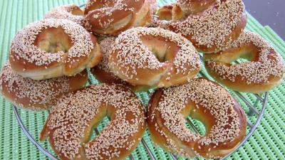 Image : Assiette de bagels