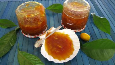 Image : Pot de confiture de kumquat