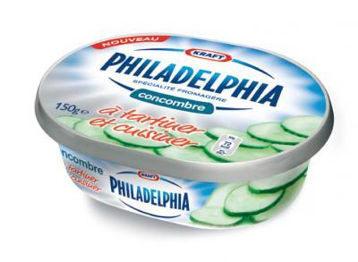 Fromage Philadelphia Concombre