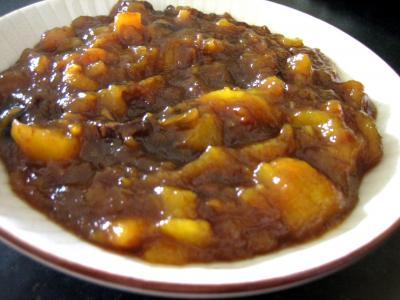 Recette Ramequin de chutney aux mangues