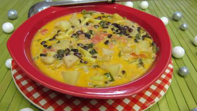 Recette Plat de blanquette de lgumes