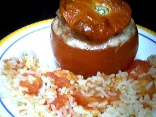 Recette Assiette de tomates farcies au jambon