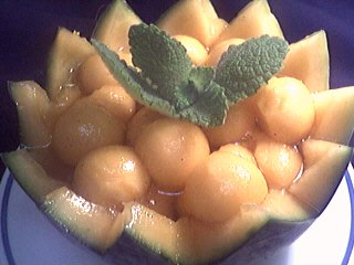 soupe froide : soupe de melon