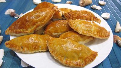 empanadas au jambon