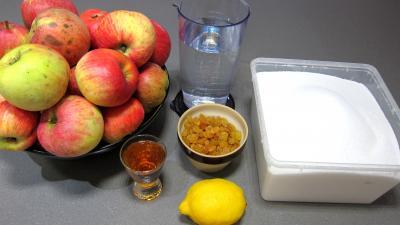 compote de pommes au citron micro ondes