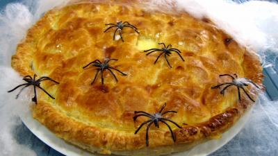 Recette Poirat du Berry et sa crème poivrée avec ces araignées