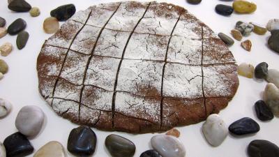 Image : Galette de pain sans gluten au sarrasin