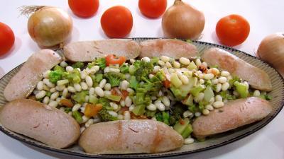 Image : recette Haricots blancs aux tomates