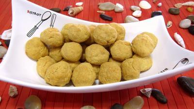 boulettes : Ramequin de boules de fromage