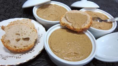 Recette Terrines de foies de volaille au Marsala