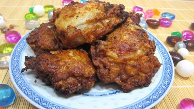 Recette Assiette de cuisses de poulet à la chinoise