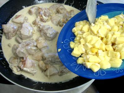 Sauté de porc au brie et aux cèpes - 13.1
