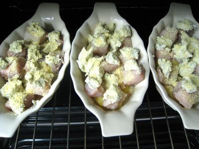 Espadon aux pommes de terre et aux noix - 9.1