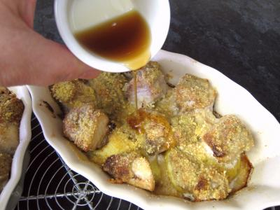 Espadon aux pommes de terre et aux noix - 9.3