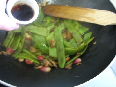 Espadon aux haricots mange-tout façon chinoise - 9.4