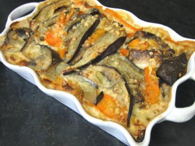 bouillon : Restes de travers de porc à l'aubergine