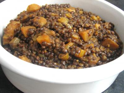 lentille : Bol de lentilles à la marocaine