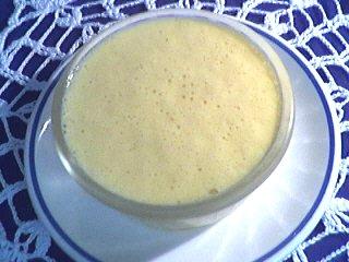 Image : Coupe d'oeufs au lait aux kakis