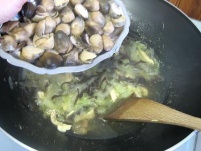 Soupe de poulet aux champignons à la chinoise - 8.2