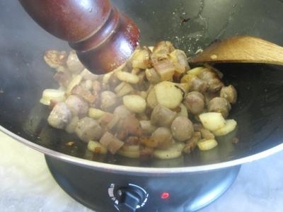 Navets et haricots verts au wok - 7.3