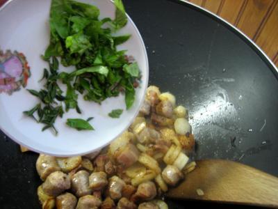 Navets et haricots verts au wok - 9.1