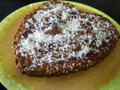 Image : Gâteau cococitron et sa crème de poire