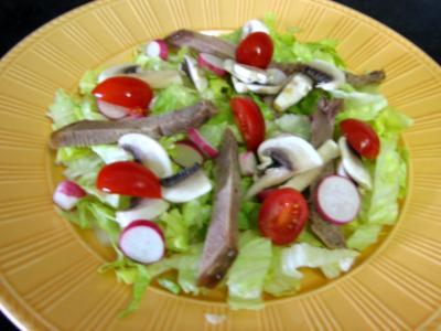 Restes de langue de boeuf en salade - 4.4