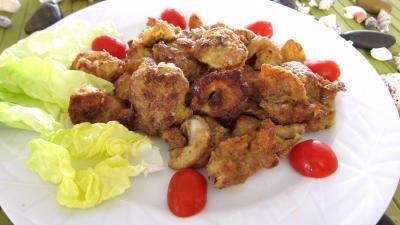 Recette Assiette de gambas au parmesan