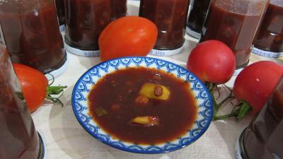 Image : recette Chutney aux tomates (conserves)