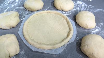Image : recette Pâte à pizza au lait