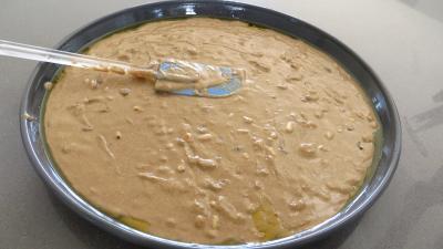 Diisposer la pâte dans un moule