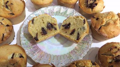 Photo : Muffins aux pépites de chocolat