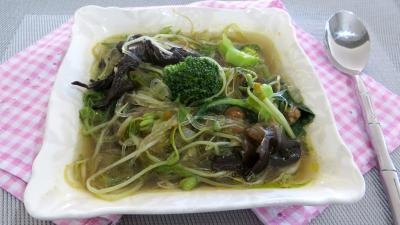 Image : Ramequin de soupe aux germes de soja