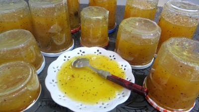 Image : recette Marmelade de kiwis et de fruits d'hiver