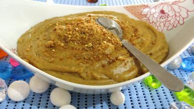 Image : recette Crème pâtissière pralinée