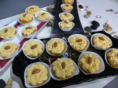 Image : recette Restes de brioches à la crème pâtissière au caramel