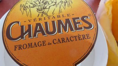 Emballage du fromage Chaumes