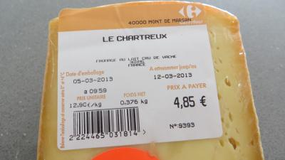 Fromage le chartreux